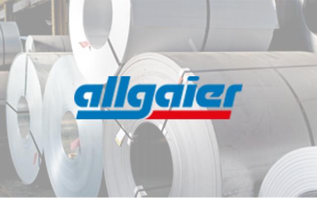Logo Allgaier Logistik Referenz von LogControl
