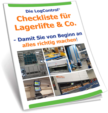 Checkliste für Lagerlifte, -türme, Shuttles, Paternoster, ...