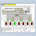 Materialflussrechner und Fördertechnik
