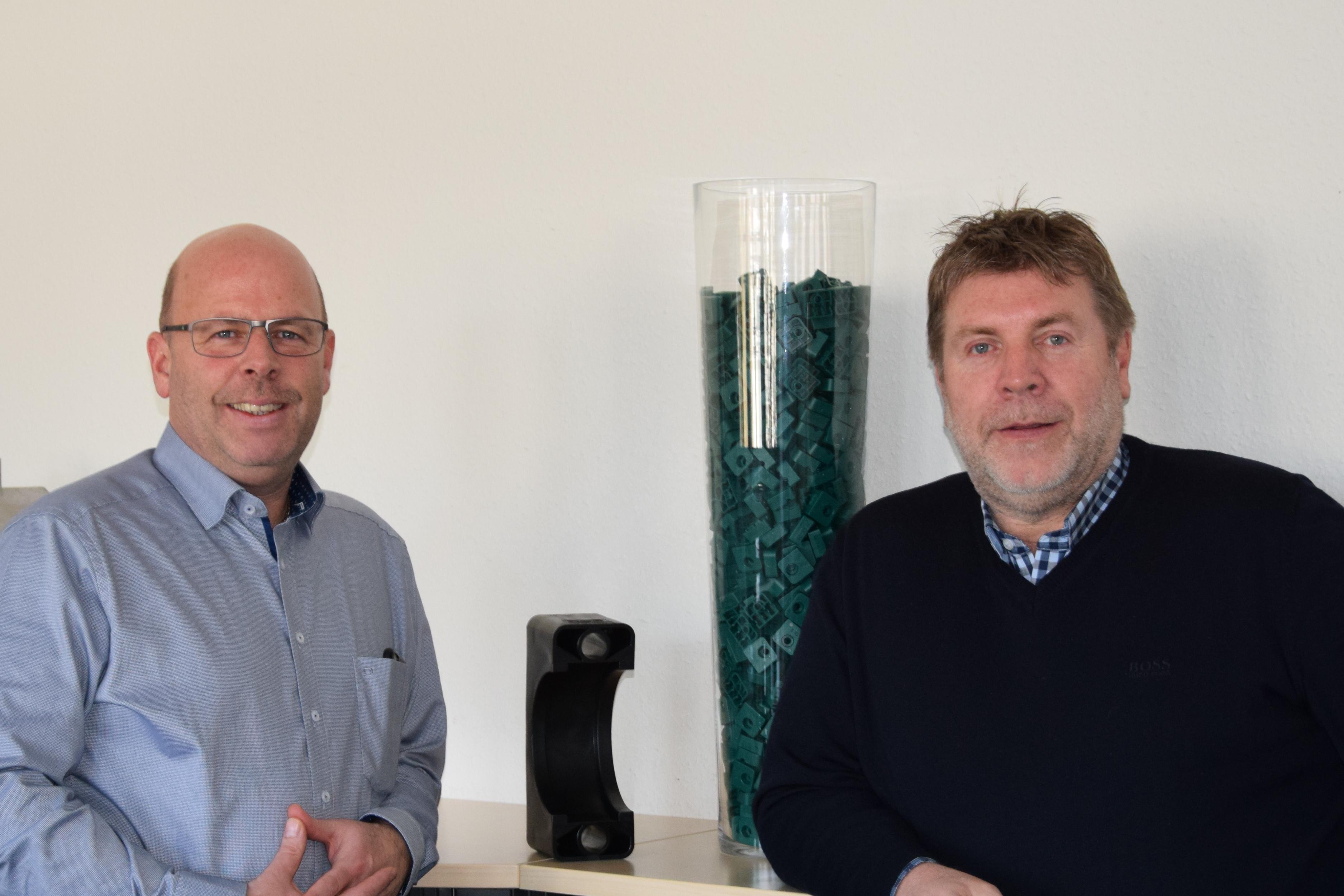 IT-Leiter Peter Schatz und Geschäftsführer Wolfgang Schatz (v.l.n.r.)