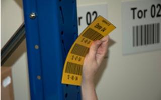 Lagerkennzeichnung magnetische Etiketten
