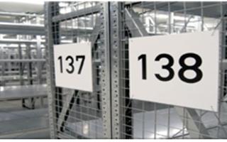 Lagerkennzeichnung permanente Etiketten
