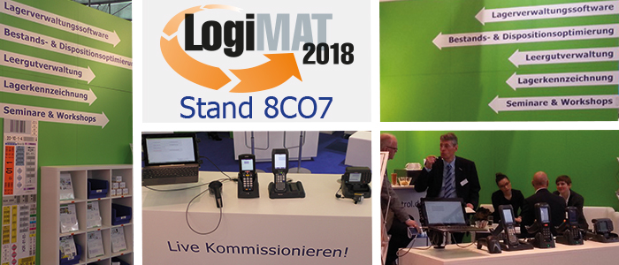 Android goes LVS - LogiMat 2018