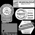 Logos Zertifikate Auszeichnungen LogControl Software