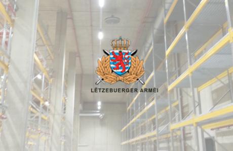 Luxemburger Armee Referenz von LogControl