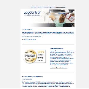 Aktueller Newsletter von LogControl