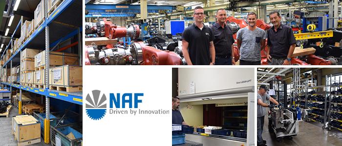 NAF Collage Erfolgsbericht