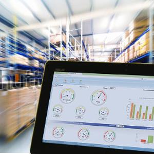 digitales Cockpit im Web auf Tablet und PC