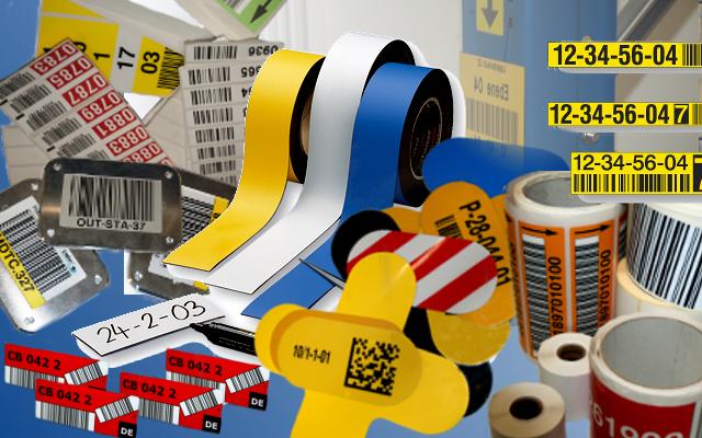 Lagerkennzeichnung-Etiketten