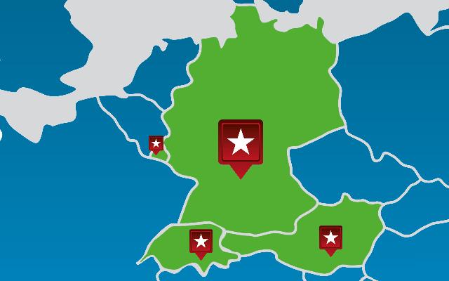 WHM-LDL-Kunden von LogControl in Europa