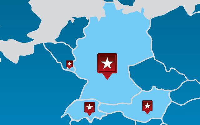 Kunden von LogControl in Europa