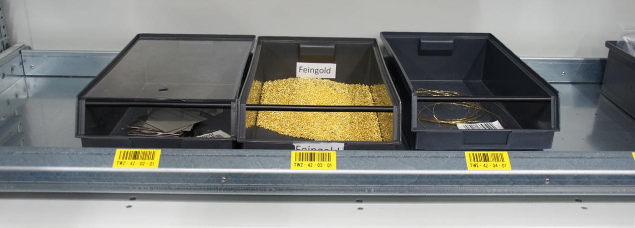Agosi Gold mit Lagersoftware verwaltet